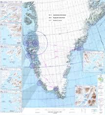 Trips Airports Greenland Handspun Chart