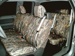 realtree mossy oak tactical camo camouflage print seat covers