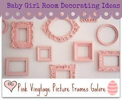 baby girl room decorating idea
