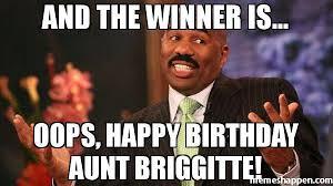 happy birthday to my aunt meme