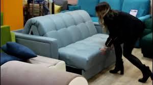 Как разложить <b>диван</b> - <b>аккордеон</b> на металлокаркасе - YouTube