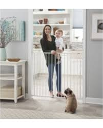 Sweet Deal on Strokcraft Extra Tall Swing Door Metal Baby Gate, 28