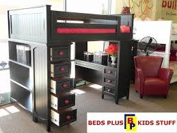 Kids Loft Bunkbeds Bedroom Furniture Children Bunk DMA Homes 42168