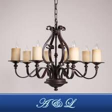 retro vintage style 8 light chandelier for living room dining room