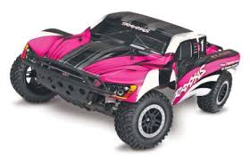 Traxxas 58034-1-PINK Pink Thing of The Day: Remote Control Cars for Girls! |