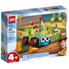 Купить <b>конструктор LEGO Toy</b> Story Вуди на машине 10766 в ...
