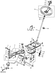 Having problem with the steering on a jd l110 lawn mower