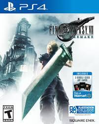 Walmart Exclusive: <b>Final Fantasy VII</b> Remake, Square Enix ...