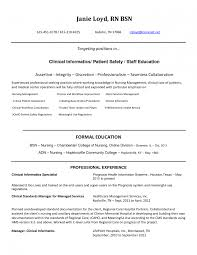 Professional Nurse Resume Template Sample New Rn Med Surg Examples