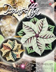 Amazonde Weihnachtsstern Mitteldecke Quilt Muster Von