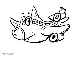 Aeroplani Da Stampare E Colorare Portale Bambini