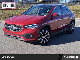 The suspension delivers a comfier ride that doesn't punish occupants over potholes. New 2021 Mercedes Benz Gla 250 For Sale At Mercedes Benz Of Marietta Vin W1n4n4gb7mj248935