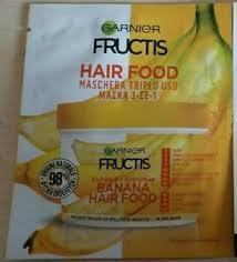 fructis hair food banana nourishing
