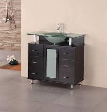 Contemporary bathroom vanities 36 inch Single Sink Design Element Huntington single 36inch Espresso Modern Bathroom Vanity Bathvanityexpertscom Design Element Vanities On Sale