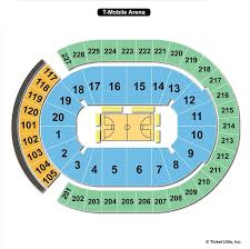 T Mobile Wwe Seating Chart T Mobile Arena Las Vegas Nv Seating Chart View