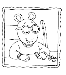 Small Picture Arthur Coloring Pages GetColoringPagescom