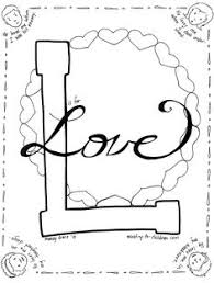 Small Picture Love One Another Color Sheet Catholic Coloring Pages Pinterest