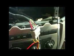 how to factory radio removal and aftermarket radio install 2005 2008 Dodge Ram Stereo Wire Harness how to factory radio removal and aftermarket radio install 2005 2007 jeep grand cherokee 2008 dodge ram stereo wiring harness