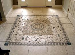 Entry way - Glass Mosaic Tile Art: Mosaic Floor Tile Floor