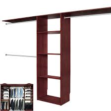 Walk in closet systems Shaped Solid Wood Closets Walk In Closet Organizer System Cherry Walk In Closet Organizers C16chy Nurne Solid Wood Closets Walk In Closet Organizer System Cherry Walk In