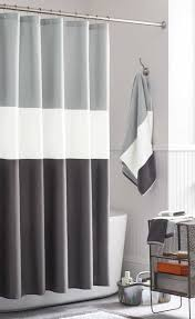 cool shower curtains for guys. Fine Curtains 13 Ideas For Creating A More Manly Masculine Bathroom  Simple Color  Blocked Shower Curtain Is Both Timeless And Gender Neutral And Cool Shower Curtains Guys R