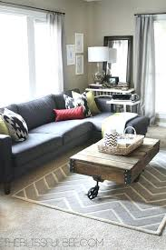 rug placement living room sectional 30 pictures
