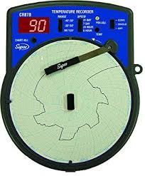Supco Temperature Circular Chart Recorder