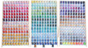 Robison Anton Polyester Embroidery Thread Chart Robison Anton Designer Kit 40wt Polyester Thread 453 Spools
