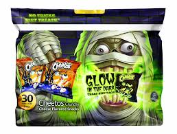 frito lay halloween cheetos glow in the dark smart
