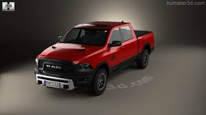 dodge trucks 2015 rebel. dodge ram 1500 rebel 2015 3d model trucks