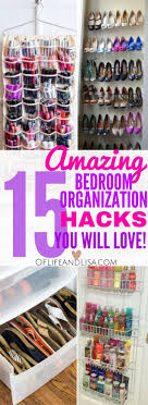 Organizing A Small Bedroom Best 25 Bedroom Organization Tips Ideas On Pinterest Closet
