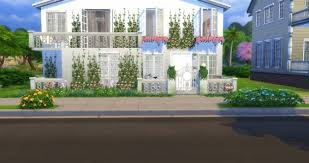 Retro House at Lily Sims » Sims 4 Updates
