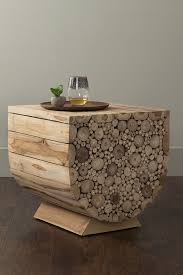 Wooden Stack Trunk Coffee Table
