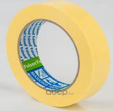 <b>FOLSEN</b> 02212 <b>Малярная лента Folsen</b> желтая 80oC 12мм x 50м
