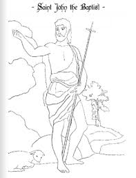 John the baptist was a fiery preacher who preached a convicting message of repentance. Saint John The Baptist Coloring Lesson Kids Coloring Page Coloring Lesson Free Printables And Coloring Pages For Kids