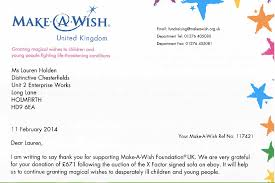 A Thank You From Make A Wish