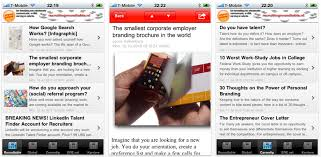 new iphone app available for recruitment consultants with news and tips from around the world