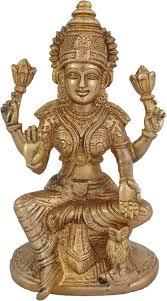 - Craft Hindu Decorative India Statue Lakshmi Idol 8 Arihant Price Hand Buy O Sculpture Laxmi Goddess Maa Showpiece 16 Cm Work In