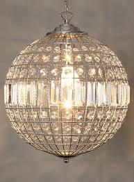 ball pendant lighting. Ursula Small Crystal Ball Pendant Light - View All Lighting \u0026 Bulbs Home, Furniture BHS T