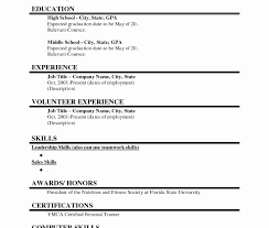 Best Biodata Format Job Application Word Photos Example Resume