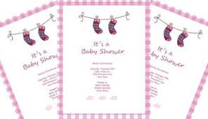 baby shower invite template word invitation templates