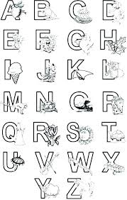 Coloring Pages For Letters D8207 Printable Illuminated Letters