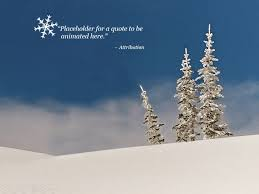 Snow Templates Free Animated Snow Powerpoint Template