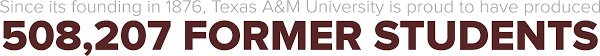 The Association Of Former Students Of Texas A M