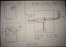 will this work transfer switch setup for furnace connection to will this work transfer switch setup for furnace connection to generator the two hot wires on the t switch are exclusive based on the setting meaning only