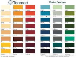 International Deck Paint Colour Chart Teamac Marine Gloss Stock Colours