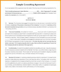 Engineering Service Agreement Template Sample Standard Consulting 7 ...