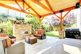 covered patio designs with fireplace. Good Covered Patio Pictures Or Small How To Design Idea Back Garden . Designs With Fireplace G