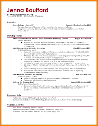 11 Sample College Resume Mla Cover Page