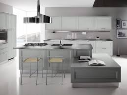 contemporary kitchen colors. Beautiful Colors Contemporary Kitchen Design Colors Grey White Accents With